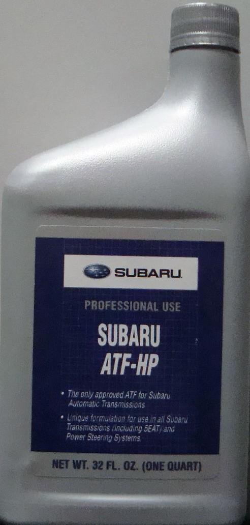 4 Quarts GENUINE SUBARU Automatic Transmission Fluid Set ATF HP P//S SOA427V1500